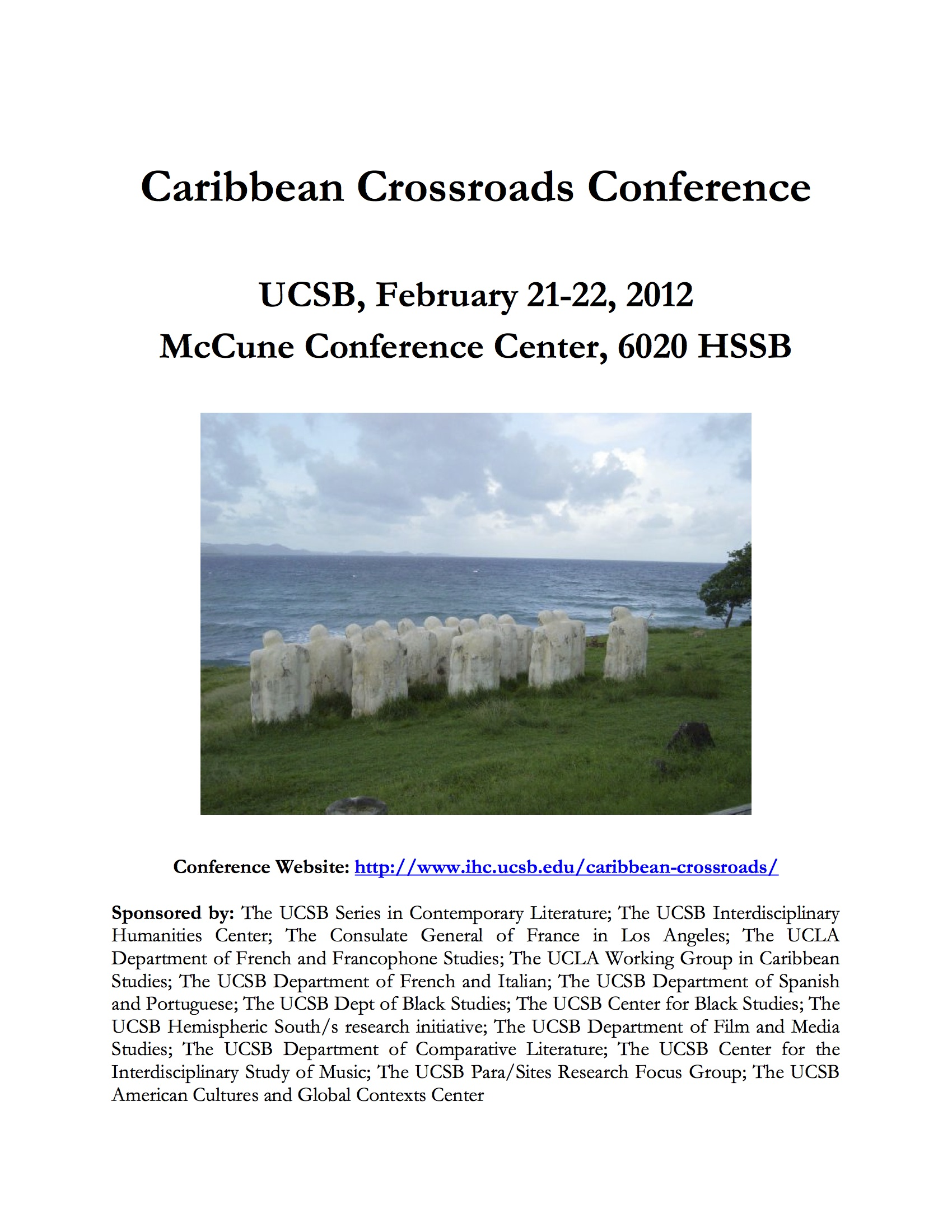 poster of caribbean crossroads