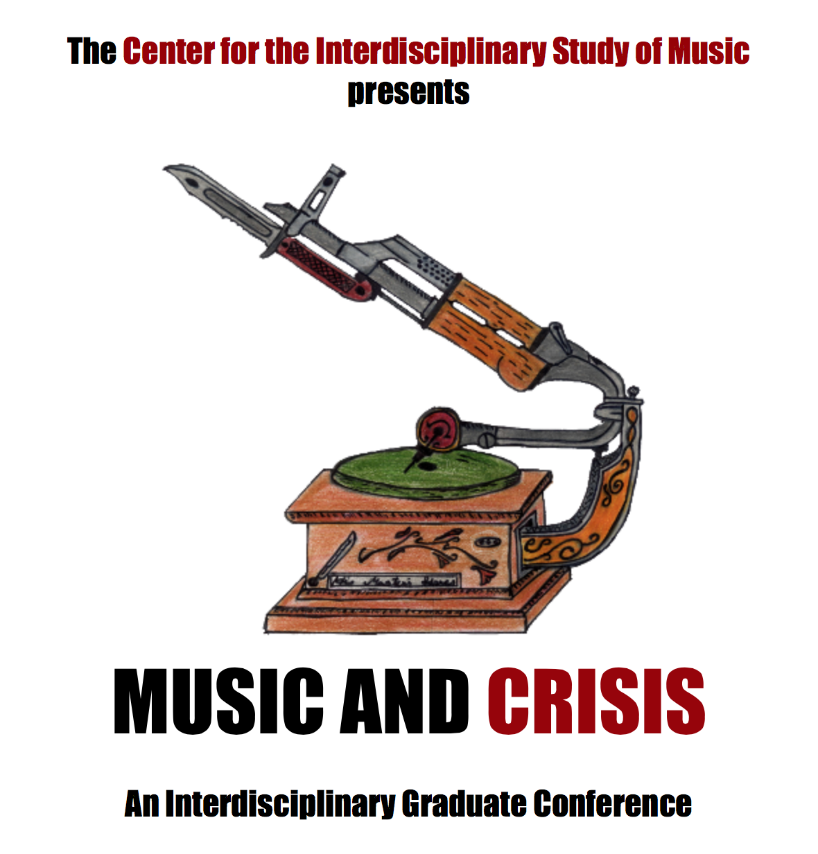 music and crisis poster