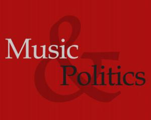 logo of music and politics conference