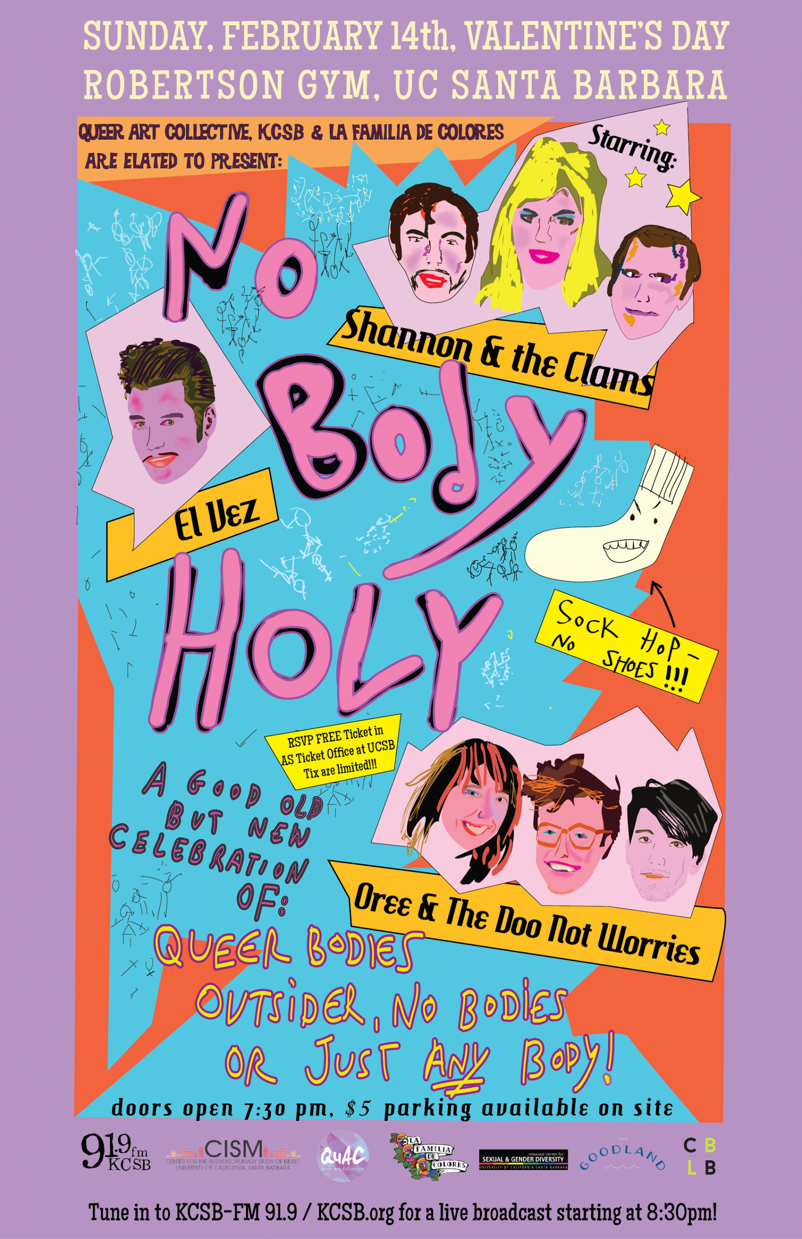 poster of no body holy