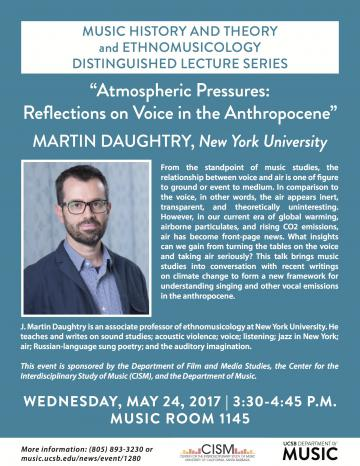 poster of martin daughtry talk