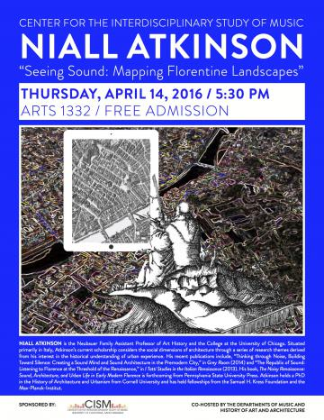 poster of niall atkinson lecture